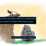 urrent account deficit is estimated to reach $7 billion this fiscal year