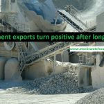 Cement exports turn positive after long gap